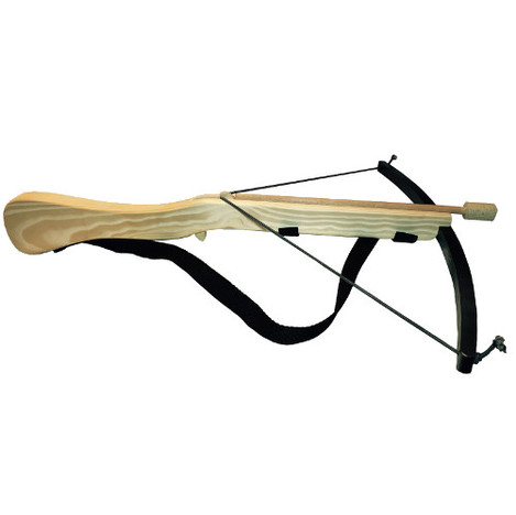 Black Crossbow with 3 arrows