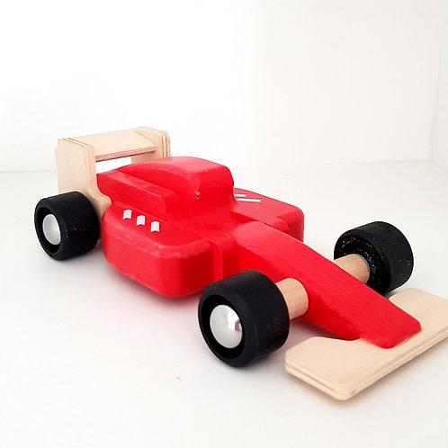 Natural wood, myriad toys, wooden wonders, nature baby, toy kingdom, allwood, allwood cars, formula one, formula one cars