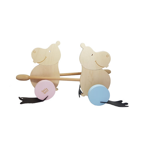 wooden toys,wooden toddler toys,educational wooden toys,wooden pushalongs,wooden push along,natural wood,myriad toys