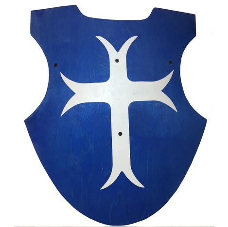Scottish curved shield