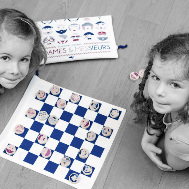 Checkers - travel board game