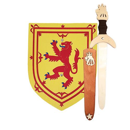 Braveheart, Robert the Bruce, the knight shop, Scottish shields, wooden shield,wood shields,toy shield,shield toy,toy shields