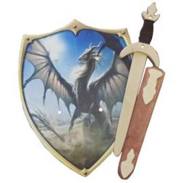 Legendary Dragon Shield and Sword