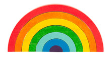 Announced our own wooden Rainbow stacker