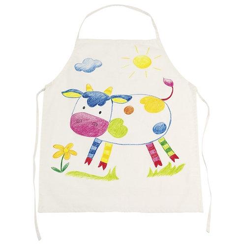 Fair trade cotton apron