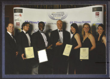 Group photo at FSS London Business Awards 2013