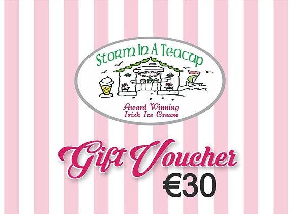 €30 Voucher