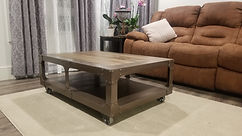 Steampunk Coffee Table 1