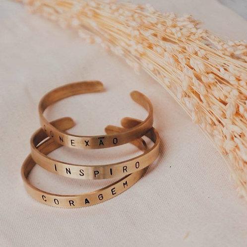 Bracelete Poesia