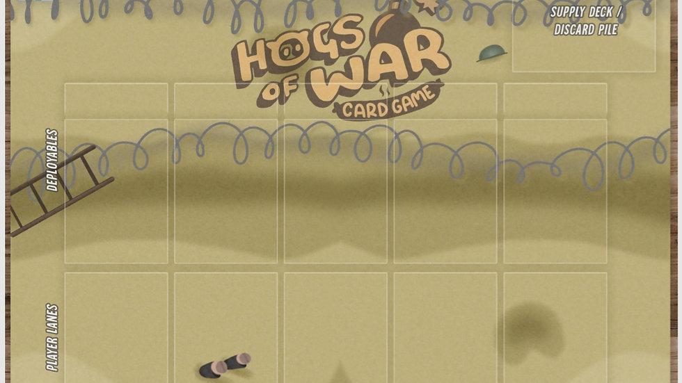 Hogs Of War Card Game Player Mat (DIGITAL)