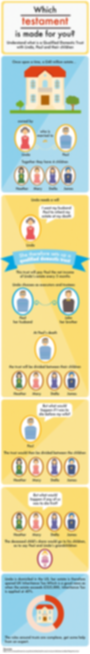 infographic data visualisation will estate inheritance testament easy explanation image