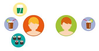 infographic data visualisation online app dating tips maximise profile