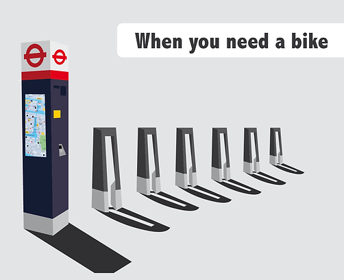 infographic data visualisation fun boris bike