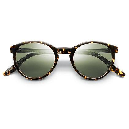 Brooks  Tortoise  Brushed Gold Sunglasses