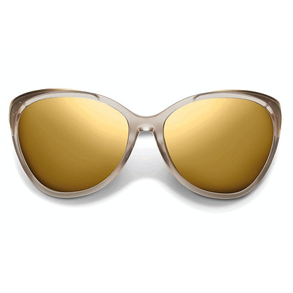 Daggerwing: Polished Nude - Brushed Champagne / Super Bronze Lens