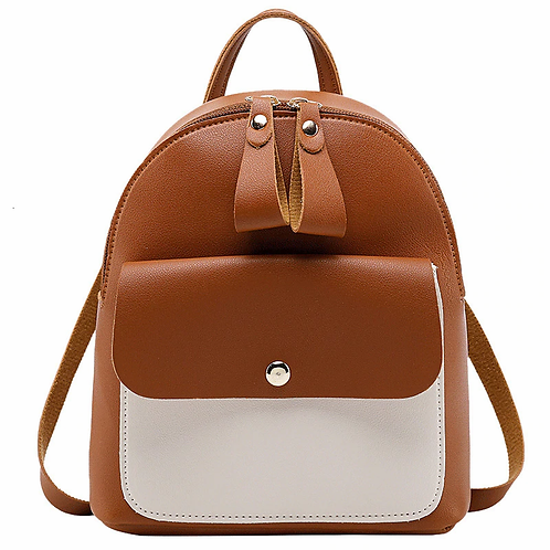 Leather Mini Backpack