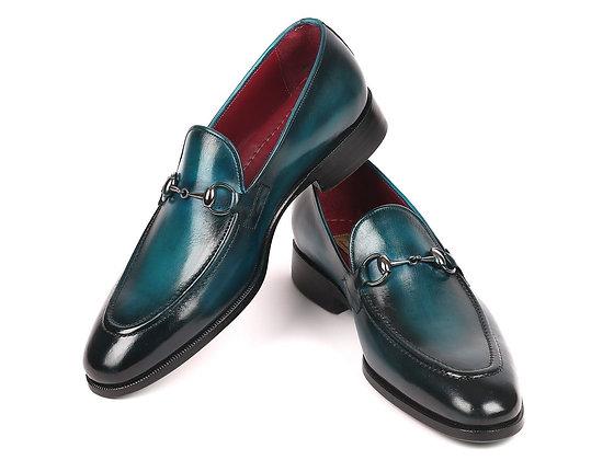 Horsebit Loafers Blue