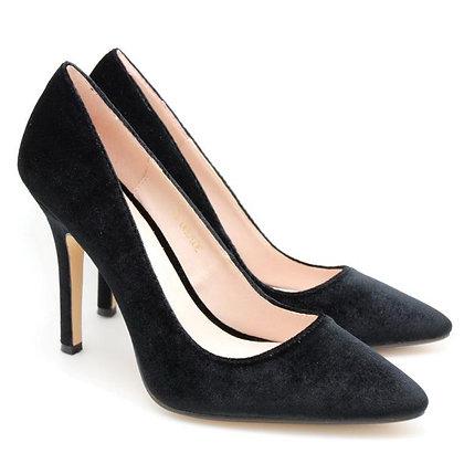 ELA Velvet High Heel
