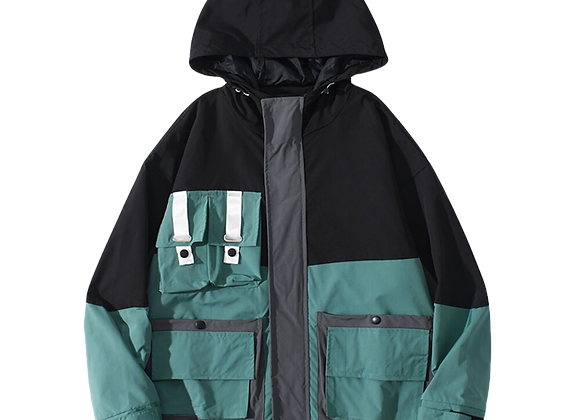 Cargo Hooded Jacket