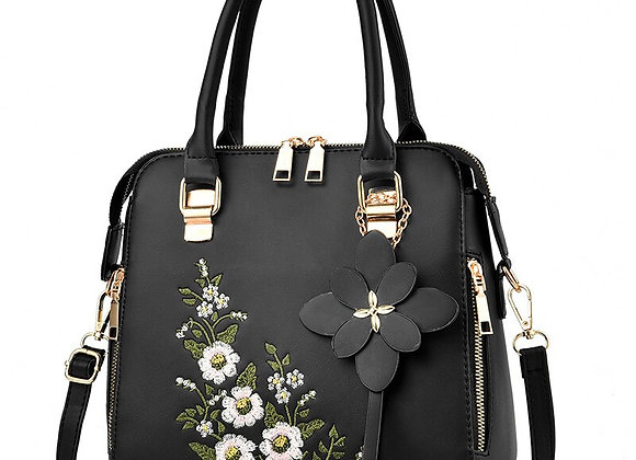 Floral hand bag