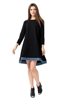 Stylish Black Flare Dress