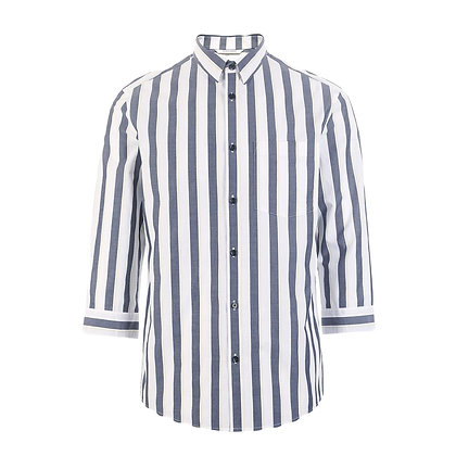 Straight Fit  3/4 Sleeves Shirt