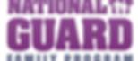 National Guard Family Program logo