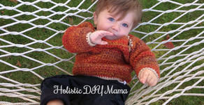 Autumn Colors Cozy Crochet Unisex Sweater #freepattern