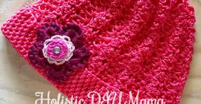 Sweet Baby Crochet Hat #freepattern