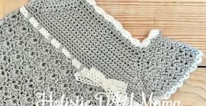 Stunning, Classic, Crochet Baby Girl Dress- Free Pattern!