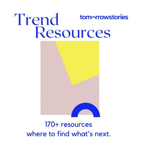 Download your 170+ Trend Resources List now