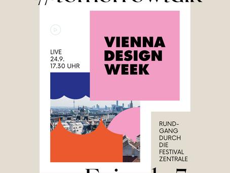 #tomorrowtalk Episode 5 - Gabriel Roland, Vice-Direktor Vienna Design Week