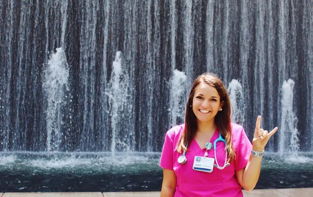 #DGSummer: Kaylee Schnur Interns at Houston Medical