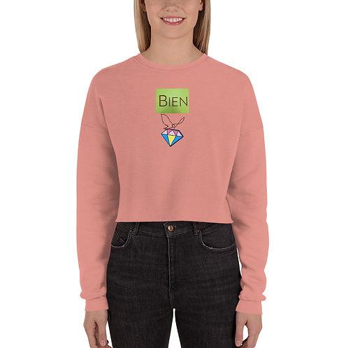 """Bien Dia"""" Crop Sweatshirt"""