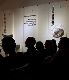 """I have presented my project """"The skin, unfinished surface"""" at Eventuell Galéria in Budapest.  The exhibition """"Barcelona Skin and Sea"""" was part of the Night of Jewellery Art Budapest, an event with more than 50 designers in about 30 locations in different districts of the city."""