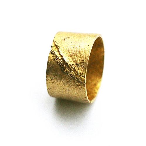 Skin.  Band ring