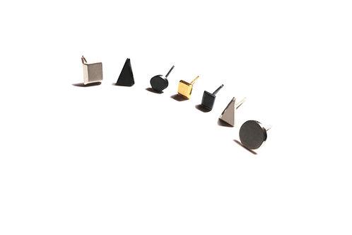 Geometric mini earrings (unit)