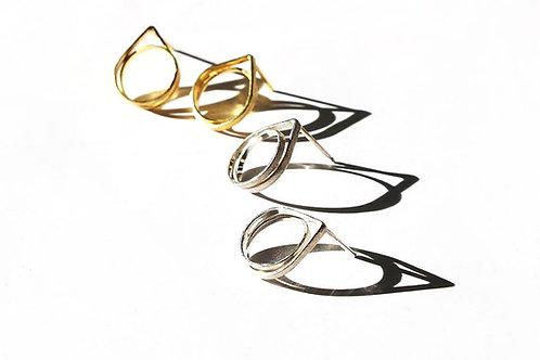 Infinity simple earrings