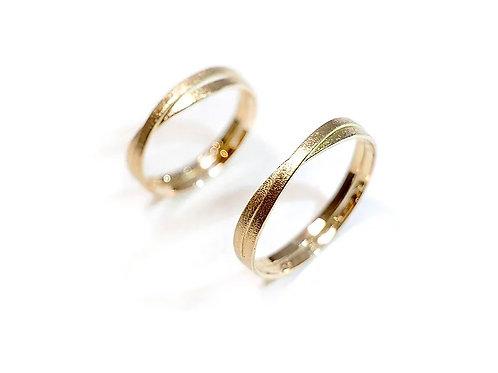 Infinity Rings - gold (18K)