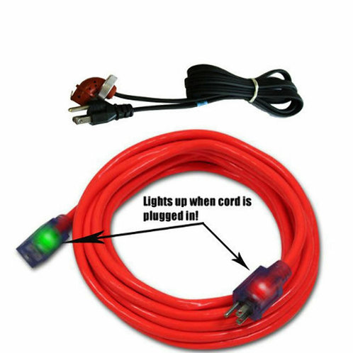 Block Heater Cord & 25' Extension Cord fits Ford 7.3 6.0 6.4 6.7L Powerstroke Di