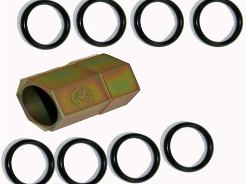 Ford Powerstroke 6.0L, High Pressure Oil Rail Repair Kit: Tool with O rings