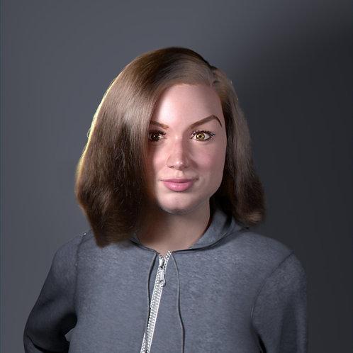 Digital Portraits - 3D Character