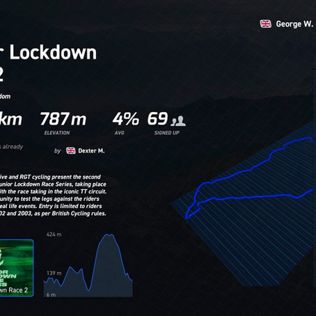 May update: E-Racing in Lockdown