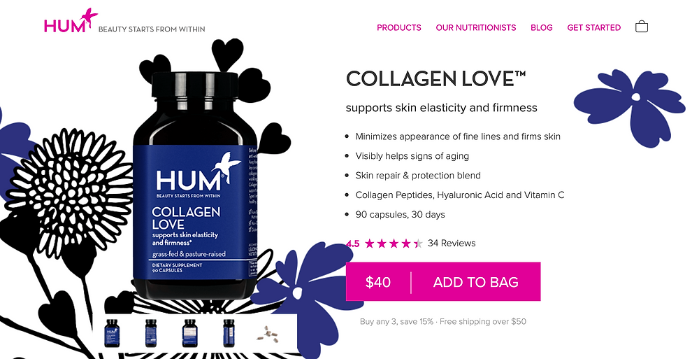 Hum Nutrition Collagen product