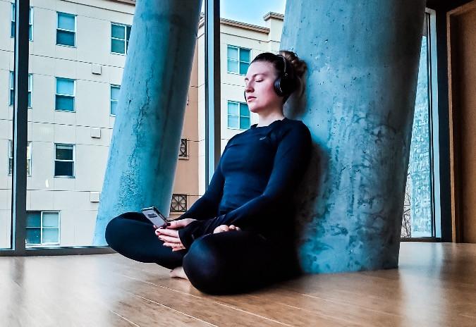 asics, meditation, yoga, meditation app