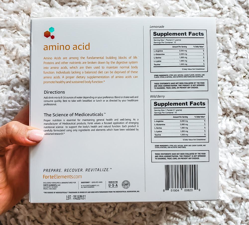 amino acid, protein, nutrition, body, yoga, recovery