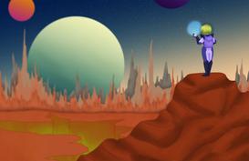 Space Hologram