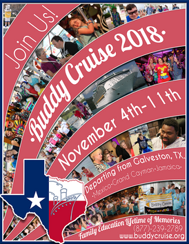 Buddy Cruise 2018 Ad