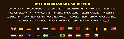 iptv kingreshare full package