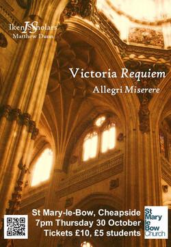 Victoria Requiem Poster vFINAL